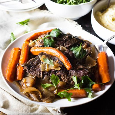 The most succulent and flavorful one-pot pot roast is just a few steps away. Learn how to make the ultimate pot roast all in one pot with maximum flavor and minimum flavor. This is going to be your ultimate comfort dinner.