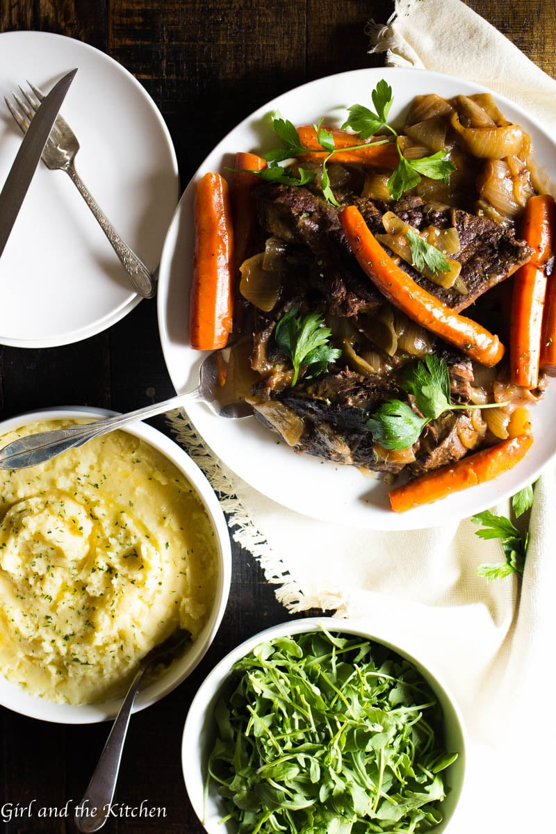 The most succulent and flavorful one-pot pot roast is just a few steps away. Learn how to make the ultimate pot roast all in one pot with maximum flavor and minimum effort. This is going to be your ultimate comfort dinner.