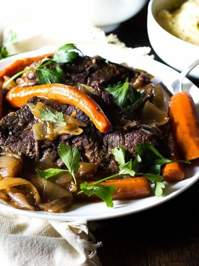 One-Pot Pot Roast Loaded with Garlic