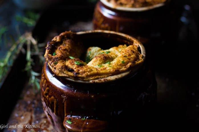 Crockpot Beef Pot Pies
