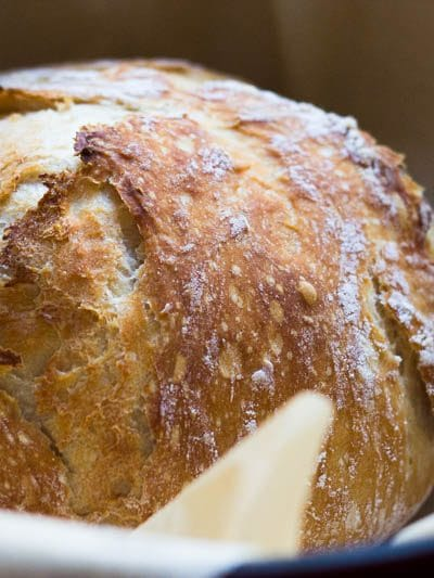 Seriously Crispy No Knead Bread