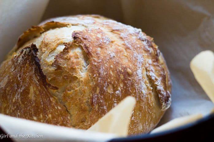 Seriously Crispy No Knead Bread