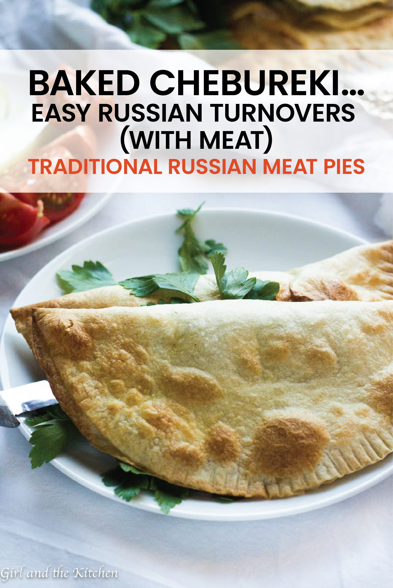 Chebureki are traditional Russian meat pies that are more similar to little meat turnovers than anything else. #russianturnover #russian