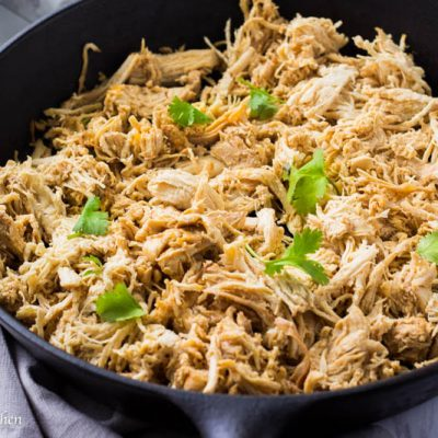 Instant Pot Shredded Chicken (Mexican Style)