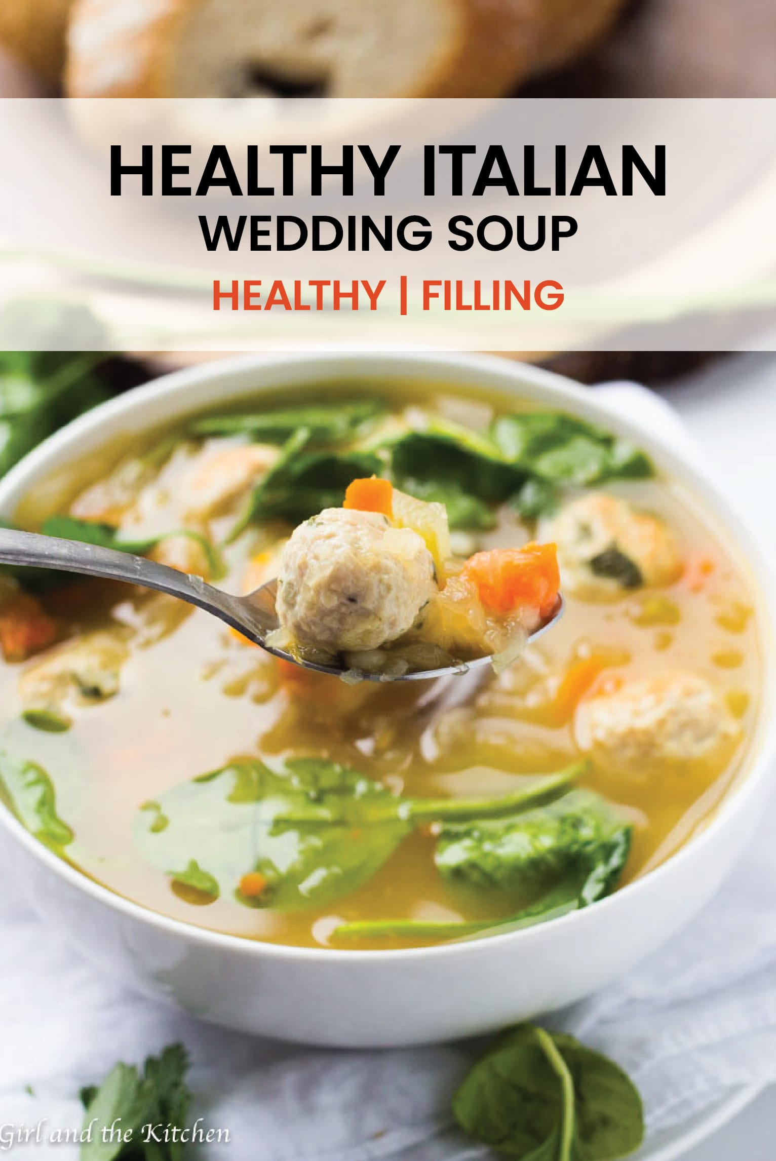 Wedding Soup that is healthy, filling and features a secret ingredient for the best tasting broth possible! #weddingsoup