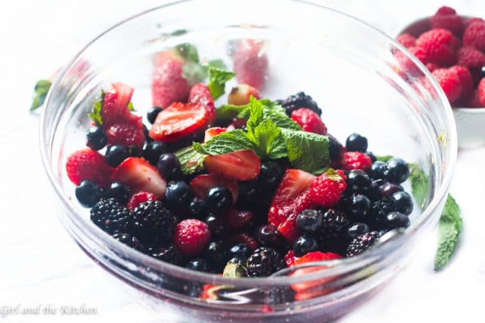 Macerated Summer Berry Salad