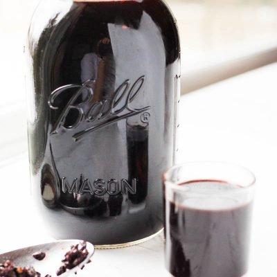 This recipe for elderberry syrup calls for the magic of the Instant Pot.  In just a few short minutes and some yummy ingredients you will have a super tasty immune boosting mixture that is perfect for these awful flu filled months!